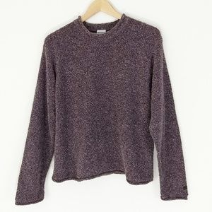 Columbia Chunky Knit Textured Pullover Sweater L